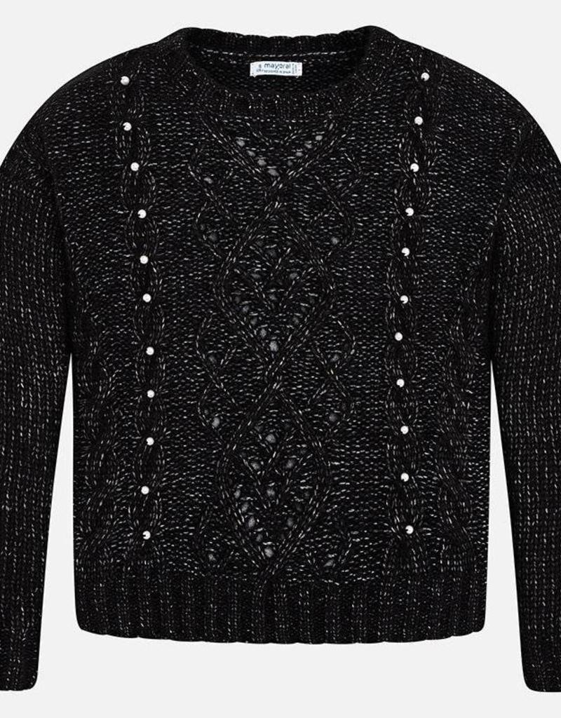 MAYORAL MAYORAL GIRLS PEARL SWEATER