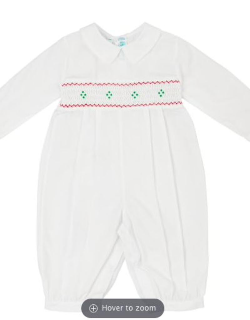 FELTMAN BROS FELTMAN BROTHERS LONG SLEEVE  SMOCKED HOLIDAY LONGALL