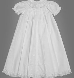 FELTMAN BROS GIRLS CHRISTENING SET W/HAT