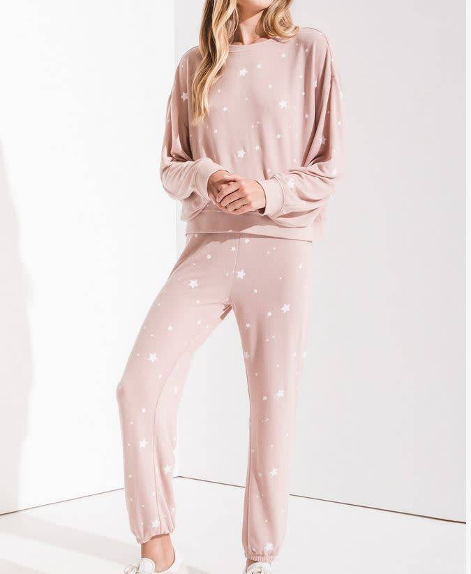 Lux Star Jogger - Silver Peony