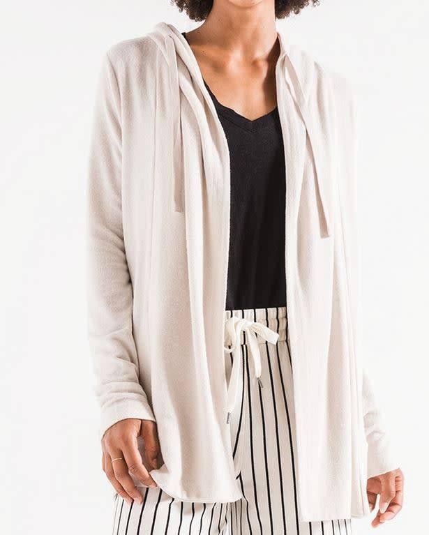 Sweater Knit Cardigan - Sandshell
