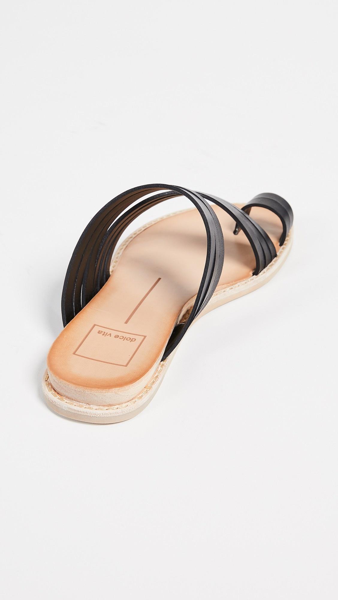 Dolce Vita Nelly Sandal - Black Leather