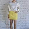 Sunny Side Skirt - Lemon Drop