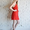 Spicy Mini Dress - Red