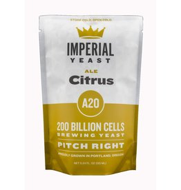 IMPERIAL YEAST IMPERIAL ORGANIC A20 CITRUS ALE