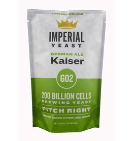 IMPERIAL YEAST IMPERIAL ORGANIC GO2 KAISER ALE