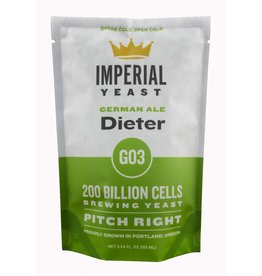 IMPERIAL YEAST IMPERIAL ORGANIC GO3 DIETER ALE