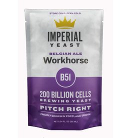 IMPERIAL YEAST IMPERIAL ORGANIC B51 WORKHORSE ALE