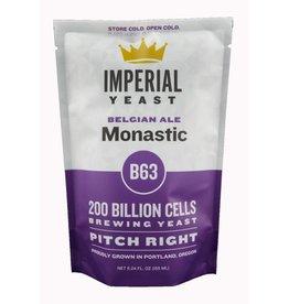 IMPERIAL YEAST IMPERIAL ORGANIC B63 MONASTIC ALE
