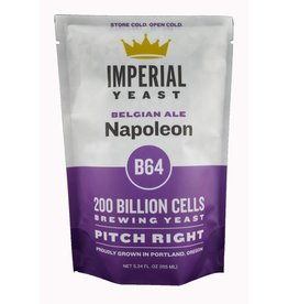 IMPERIAL YEAST IMPERIAL ORGANIC B64 NAPOLEAN ALE