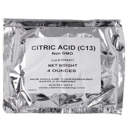 NEW ENGLAND CITRIC ACID 8OZ PACKAGE