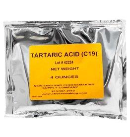 NEW ENGLAND TARTARIC ACID 4 OZ PACKAGE