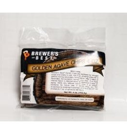 BREWERS BEST GOLDEN AGAVE BARREL CHIPS 4 OZ