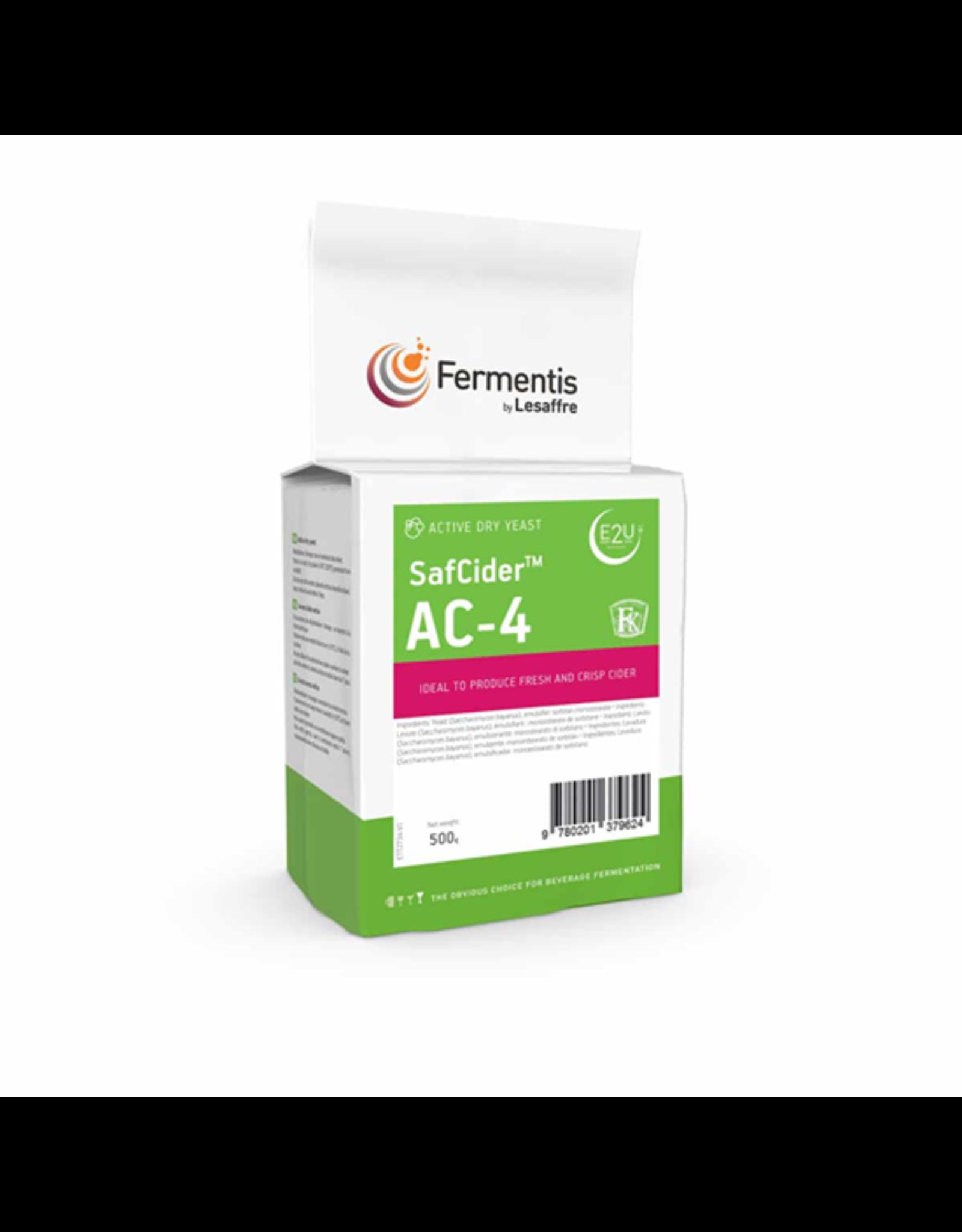 FERMENTIS FERMENTIS SAFCIDER AC-4 500 GRAMS