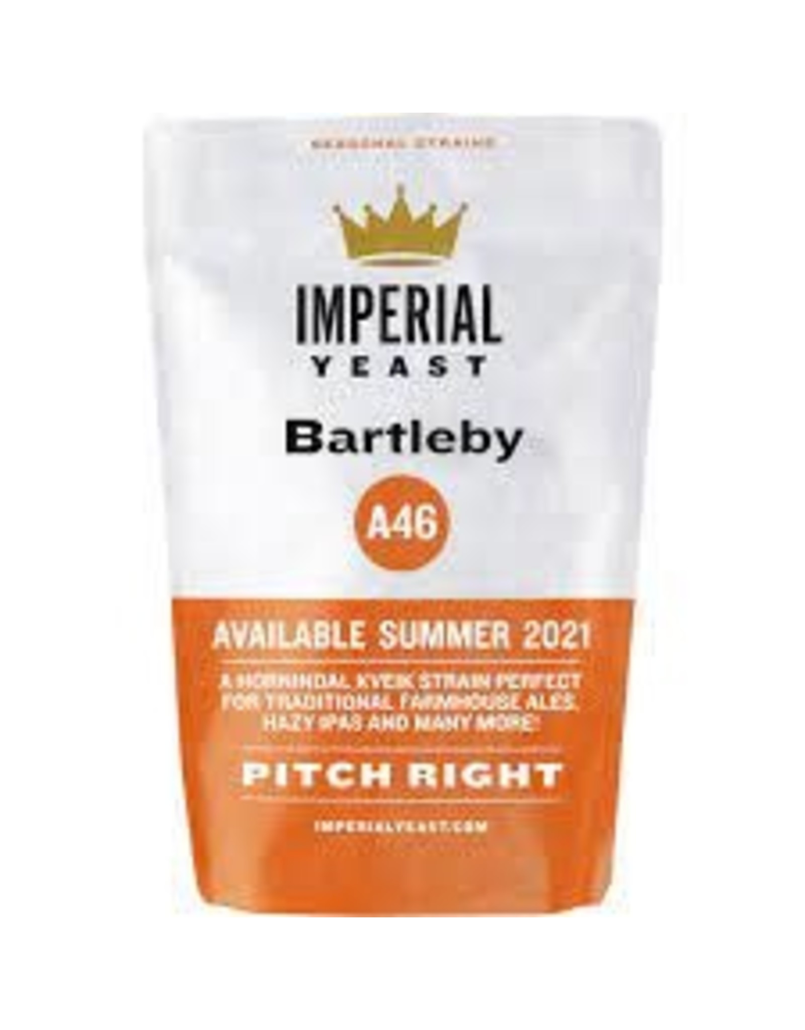 IMPERIAL YEAST IMPERIAL ORGANIC B46 BARTIEBY