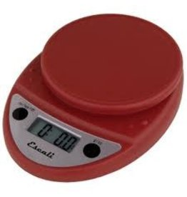 PRIMO DIGITAL SCALE SOFT RED