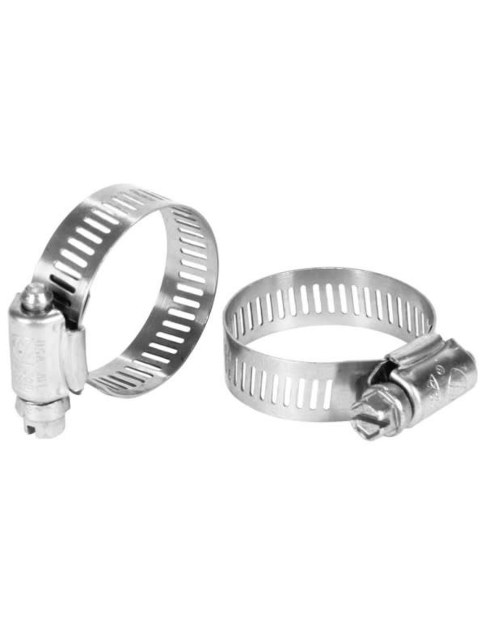 #6 S/S WORM CLAMP 2 PACK