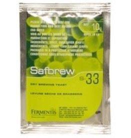 SAFBREW S-33 ALE YEAST