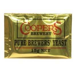COOPERS ALE YEAST 15 GRAMS