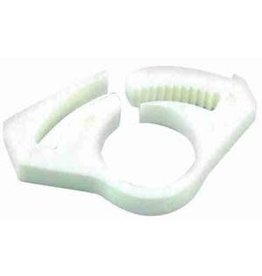 """KWICK CLAMP FOR 3/16"""" HOSE WHITE 2 PACK"""