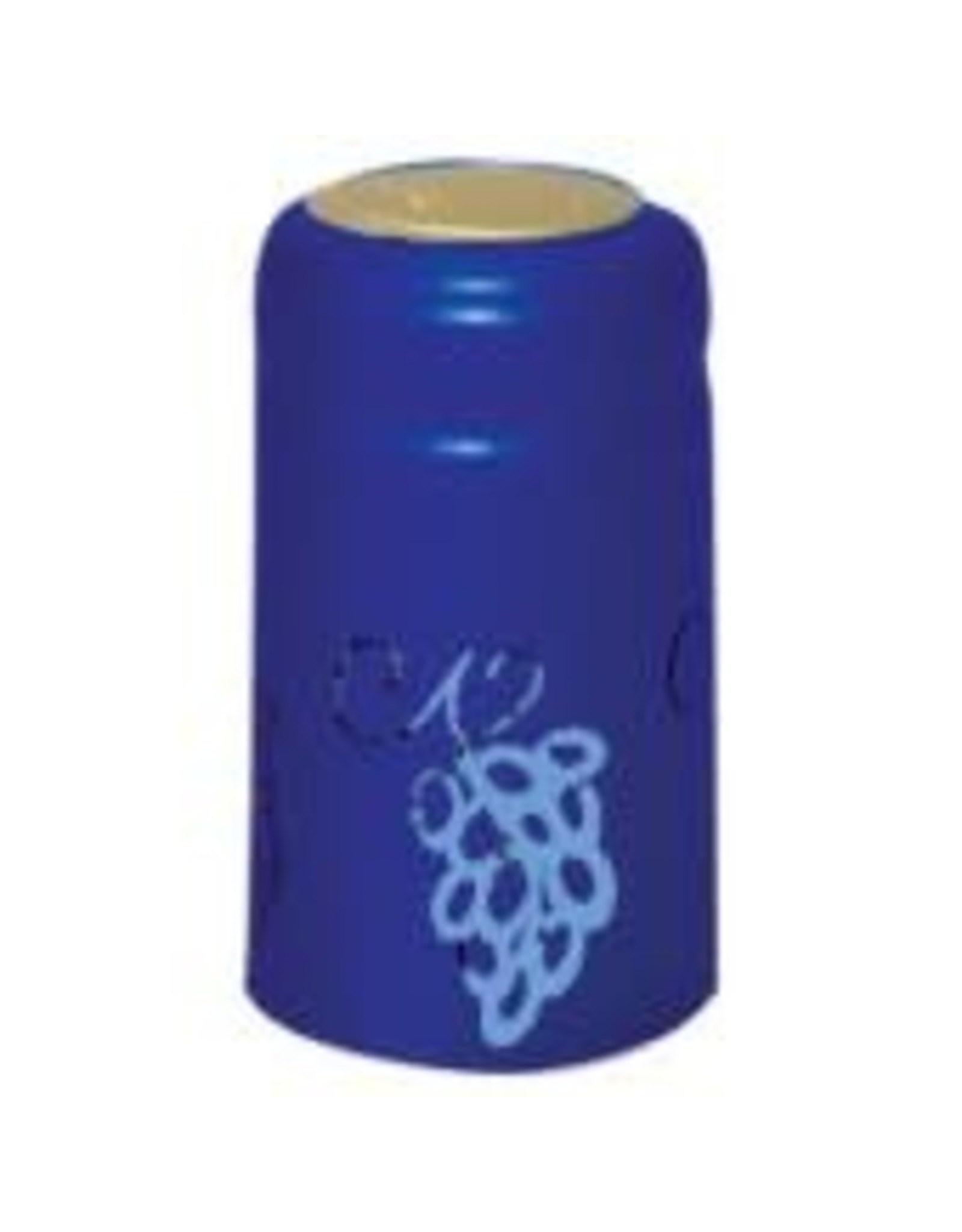 BLUE W/GRAPE SHRINK CAPS 100 PACK
