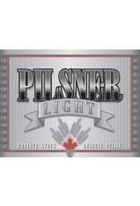 BEER LABEL PILSNER LIGHT