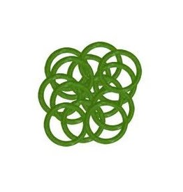 REPLACEMENT GREEN STEM O-RINGS 10 PACK