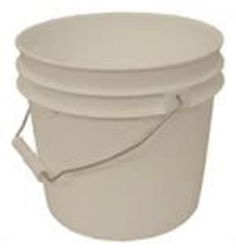 1 GALLON PLASTIC PAIL WITH LID