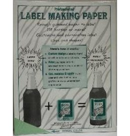 GREEN LABEL MAKING PAPER PK/18