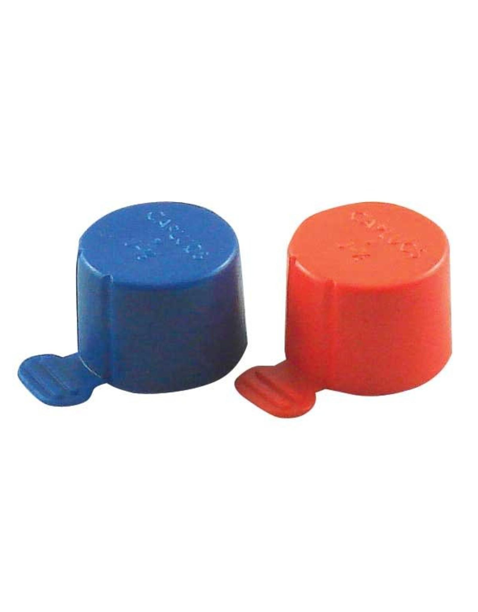 BLUE CO2 PILFER PROTECT CAP