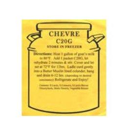 NEW ENGLAND CHEVRE CHEESE MAKING KIT 20 GRAMS