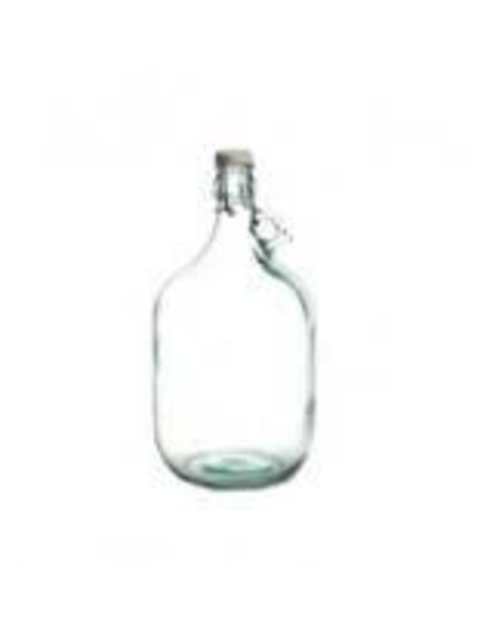 5 LITRE GLASS DAMA WITH SWING