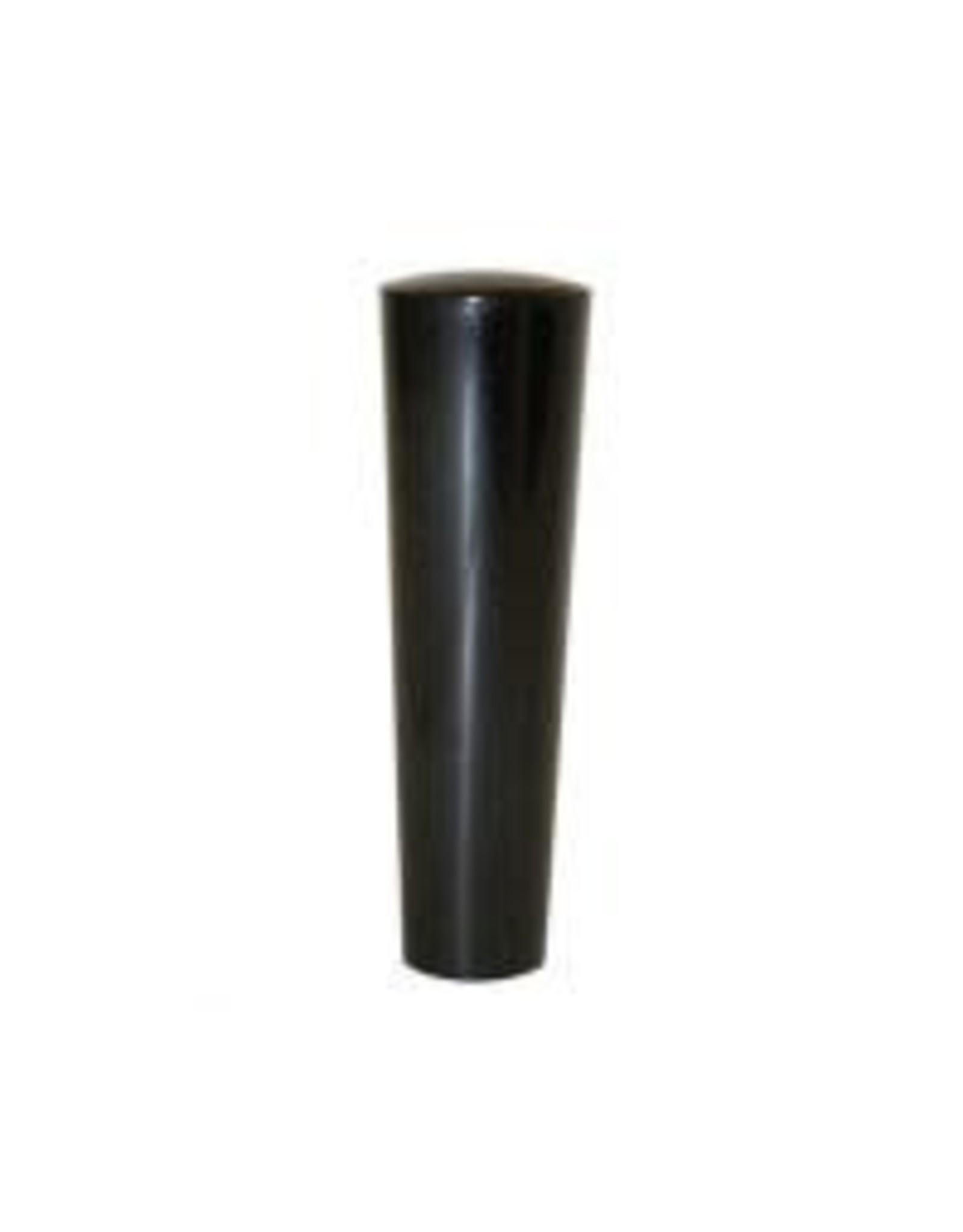 BLACK PLASTIC EURO TAP HANDLE