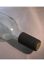 BLACK PVC SHRINK CAPSULE 100 PACK