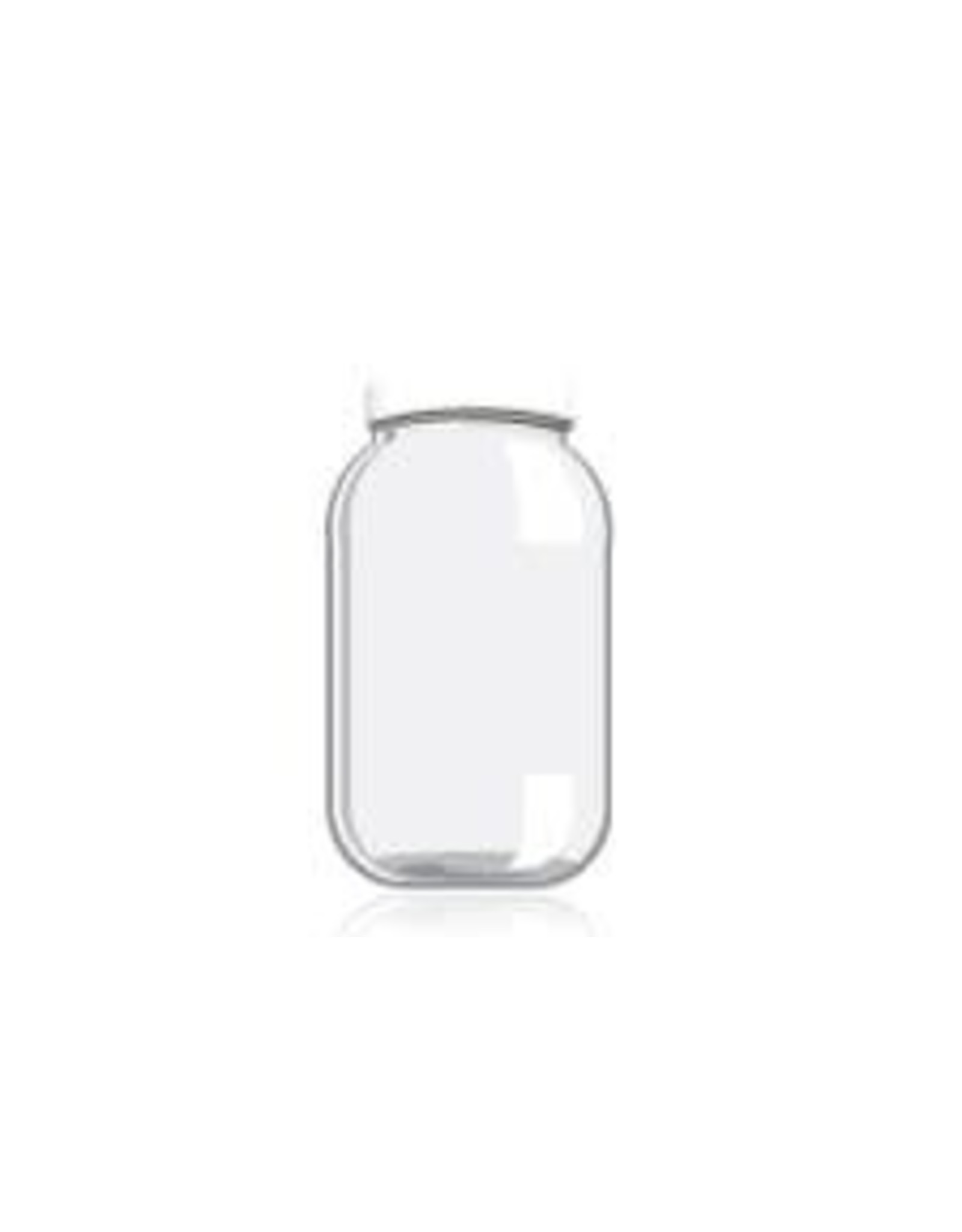 1 GALLON GLASS JAR/PLASTIC LID