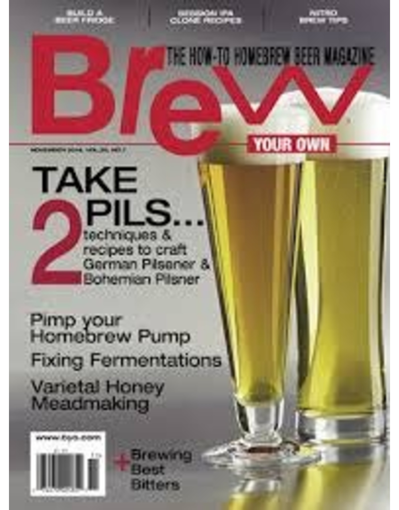 BREW YOUR OWN NOVEMBER 2014