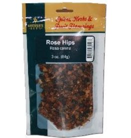 DRIED ROSEHIPS 3 OZ