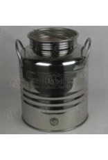 SUPERFUSTINOX 25L STAINLESS OLIVE OIL DRUM