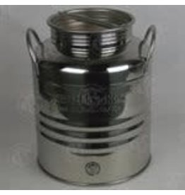 SUPERFUSTINOX 20L STAINLESS OLIVE OIL DRUM