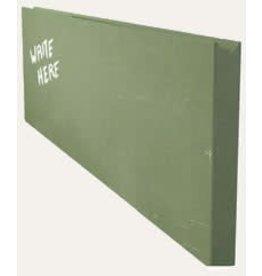 CHALKBOARD WALL MENU GREEN
