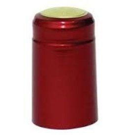RUBY RED PVC SHRINK CAPSULE