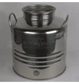 SUPERFUSTINOX 30L STAINLESS OLIVE OIL DRUM