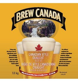 BREW CANADA DRAUGHT BEER KIT
