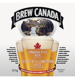 BREW CANADA STYLE LAGER KIT