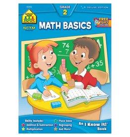 School Zone Workbook - Math Basics - Grade 2