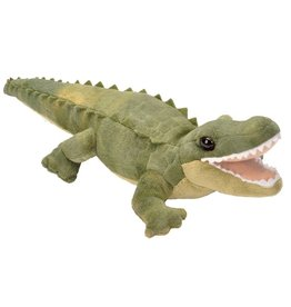 Wild Republic Plush Green Alligator