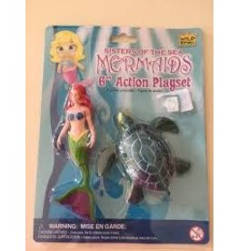 "Wild Republic Mermaids 6"" Action Playset"