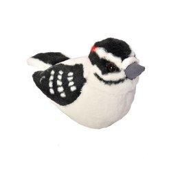 Wild Republic Plush Audubon Downy Woodpecker
