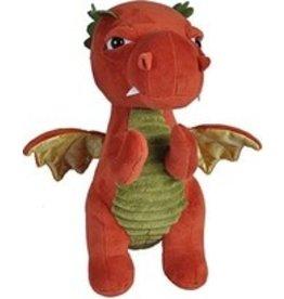 Wild Republic Plush Dragon - Rust