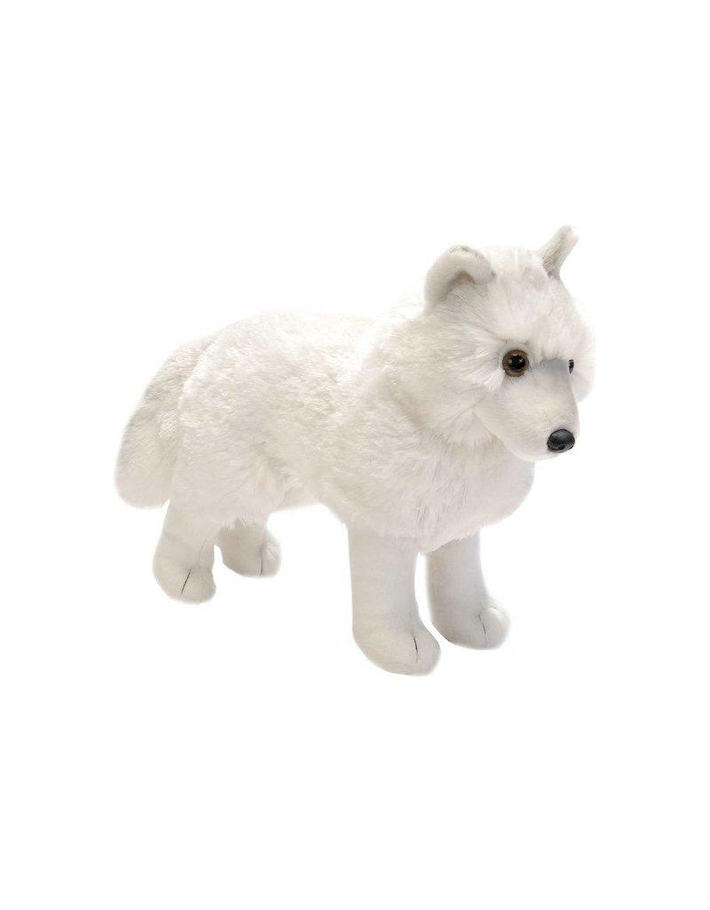 Wild Republic Plush Arctic Wolf Standing